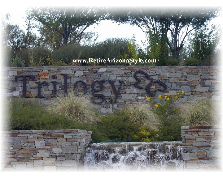 Trilogy at vistancia model homes